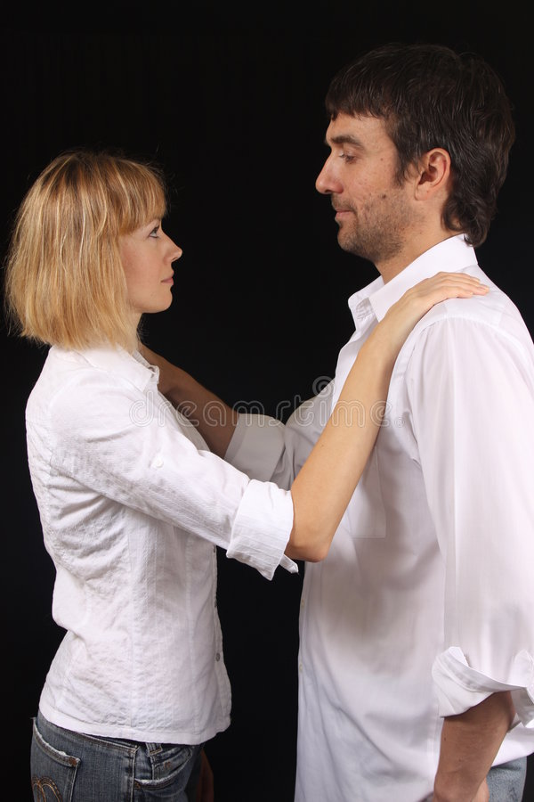 Download Couple Comforting Each Other Stock Image - Image of couple, relationship: 7671533