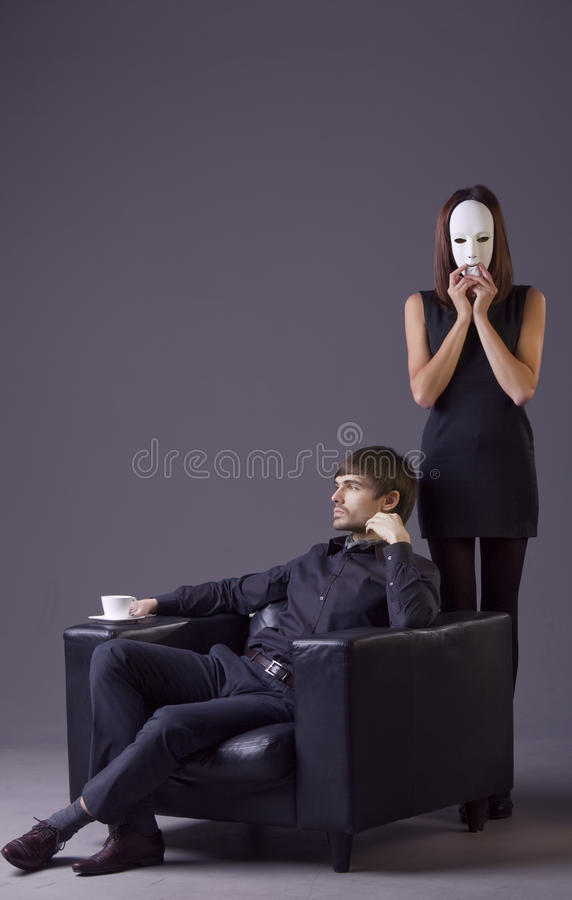 Couple Conflict Royalty Free Stock Photography
