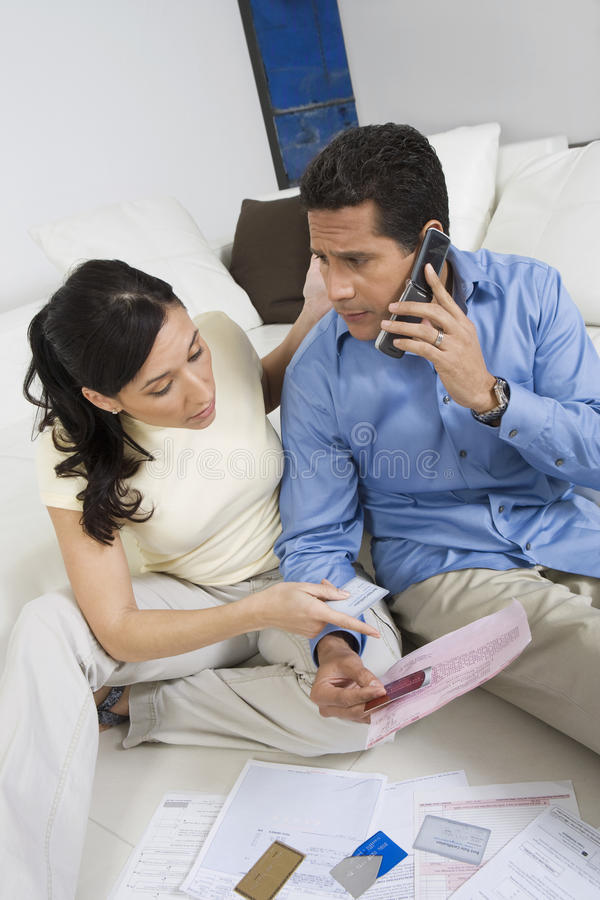 Download Couple With Credit Cards stock photo. Image of adult - 29661100