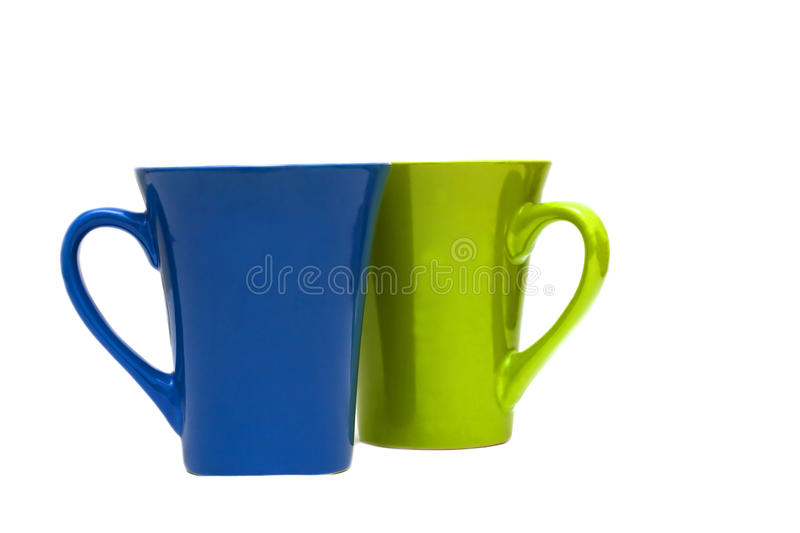 Download Couple Of Cups Isolated On White Background Stock Photo - Image: 20172236