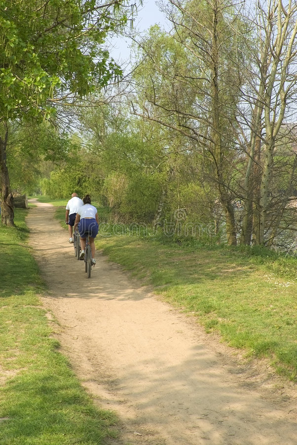 Download Couple cycling stock photo. Image of retire, life, exercise - 2267688