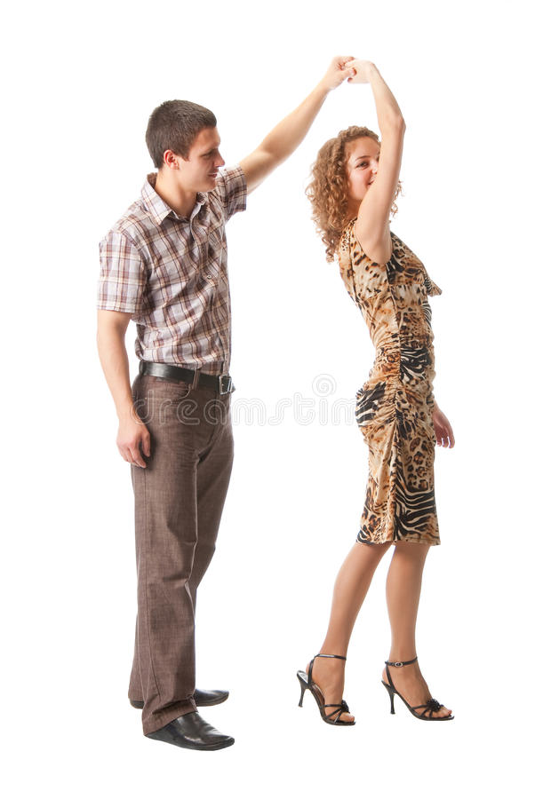 Download Couple dancing stock image. Image of isolated, attractive - 13913919