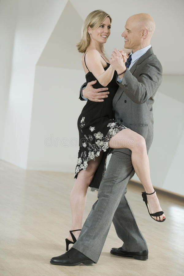 Download Couple dancing tango stock image. Image of elegance, artist - 10973393