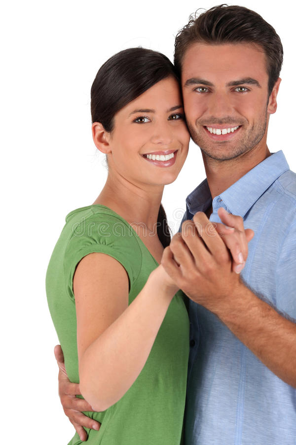 Couple dancing together royalty free stock images