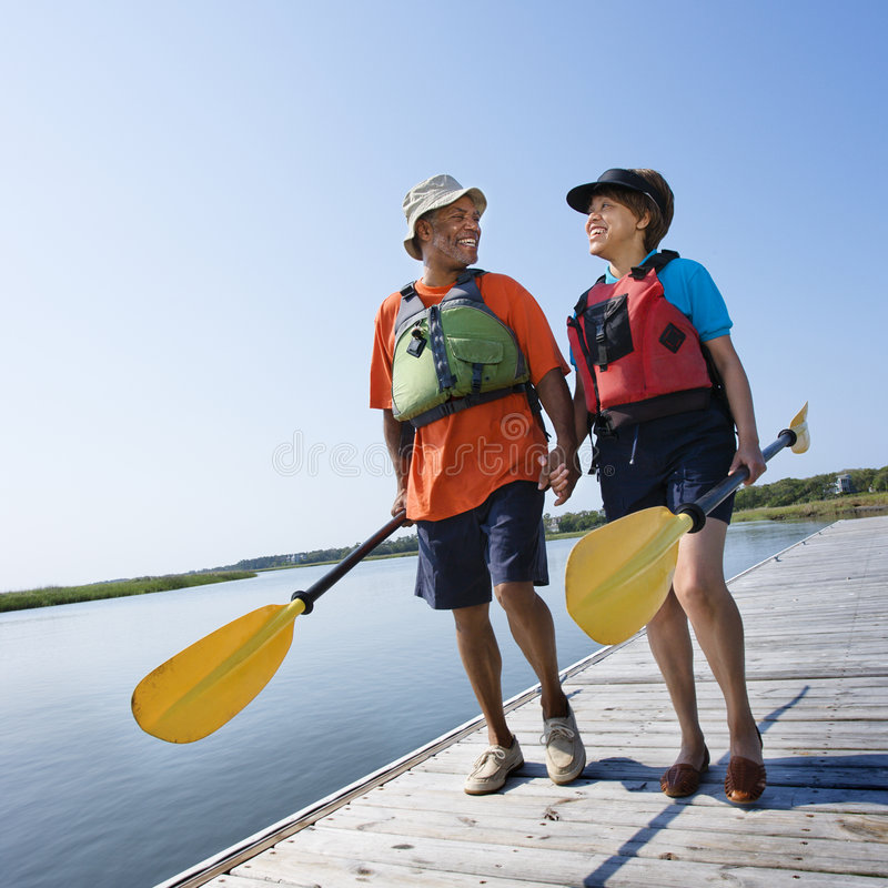Download Couple on dock. stock photo. Image of life, holding, 070522s0104 - 3470630