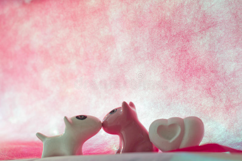 Download Couple dog with  heart stock photo. Image of mammal, girl - 83720488