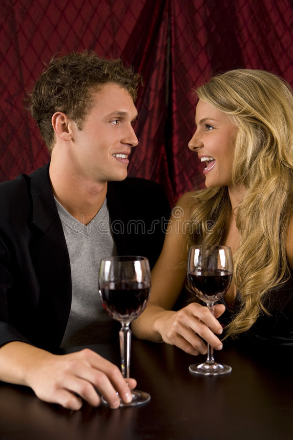 Download Couple drinking stock photo. Image of celebration, friends - 9329566