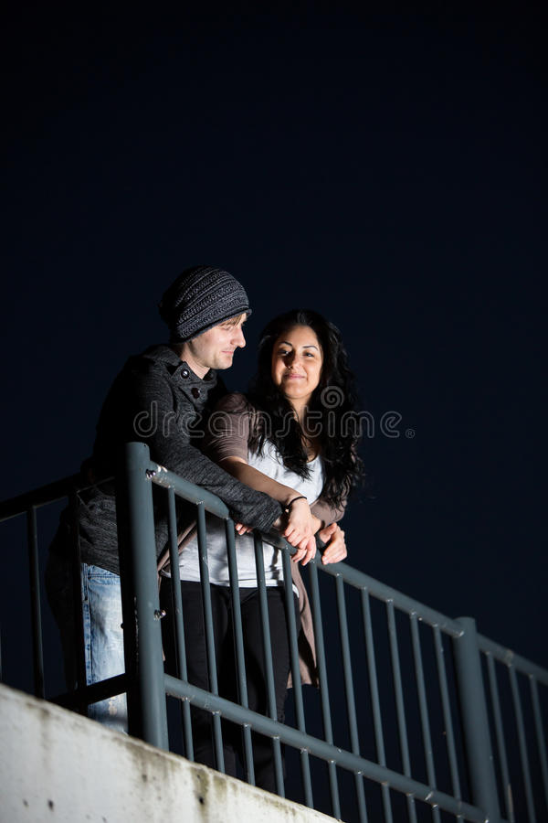 Couple in the Dusk2 stock photo