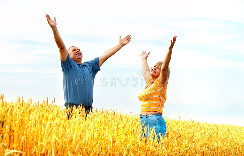 couple elderly στοκ εικόνες με δικαίωμα ελεύθερης χρήσης