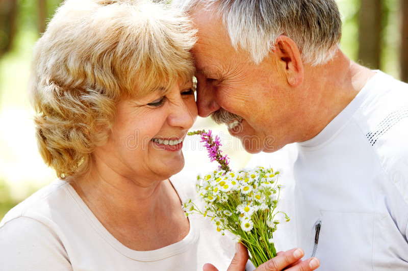 couple elderly στοκ φωτογραφία