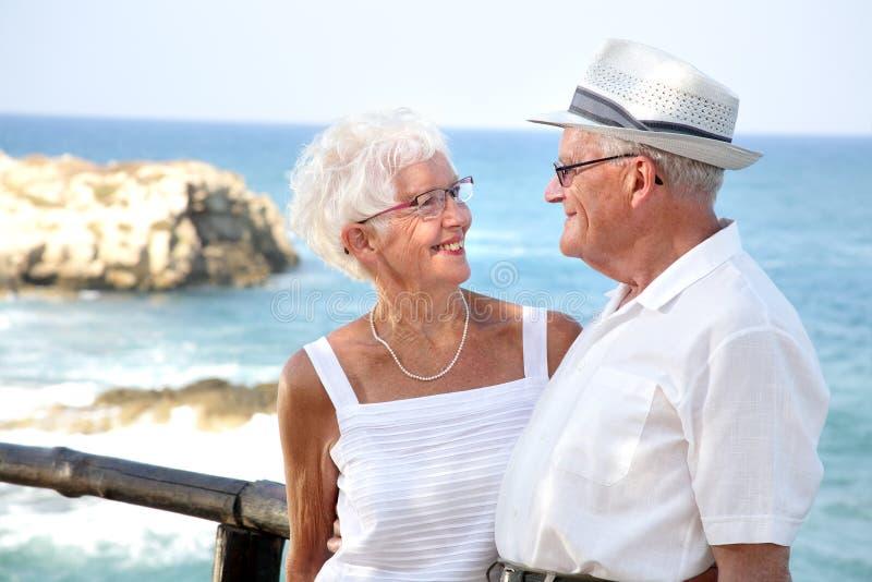 couple elderly happy στοκ εικόνες με δικαίωμα ελεύθερης χρήσης