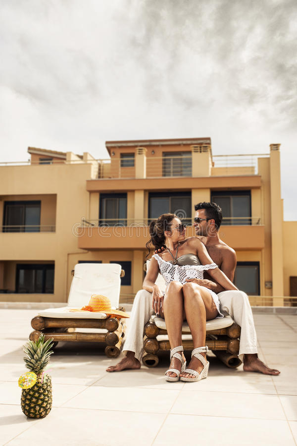 Download Couple Enjoying Their Summer Holidays Stock Image - Image: 31686341
