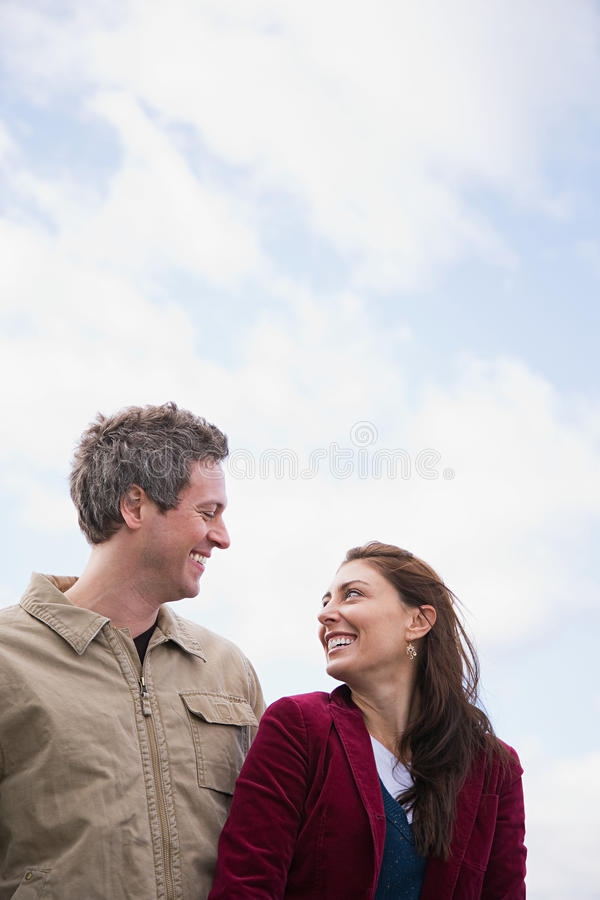 Download A couple face to face stock photo. Image of closeness - 36095340
