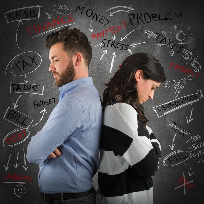 Download Couple Financial Problem Stock Photo - Image: 62066783