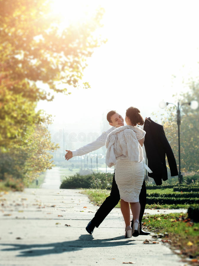 Couple First Date Royalty Free Stock Photo