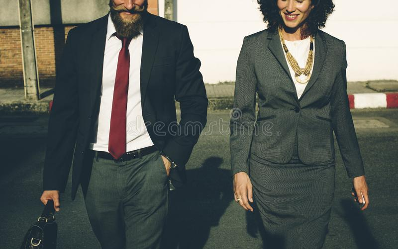 Couple in formal wear royalty free stock photography