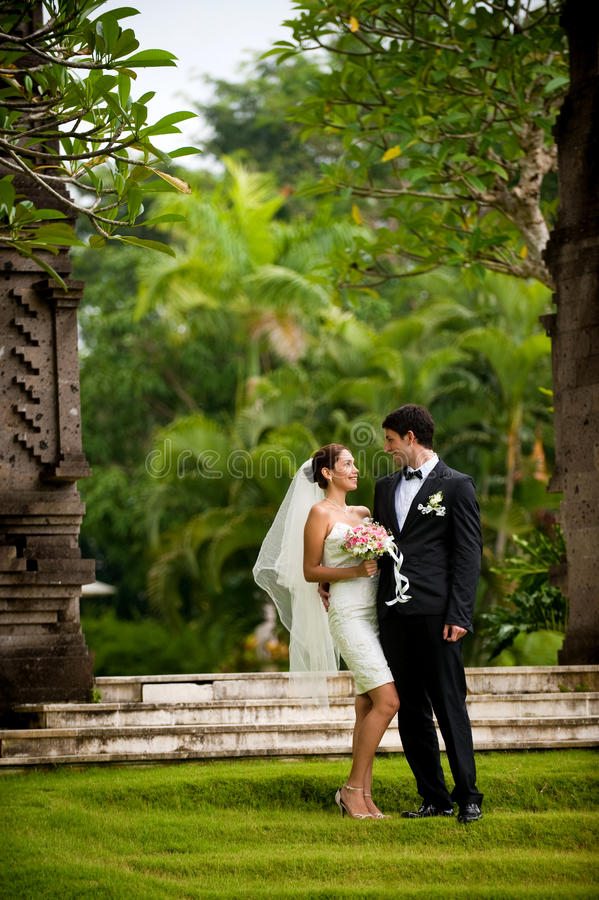 Download Couple Getting Married stock photo. Image of female, holding - 13354204