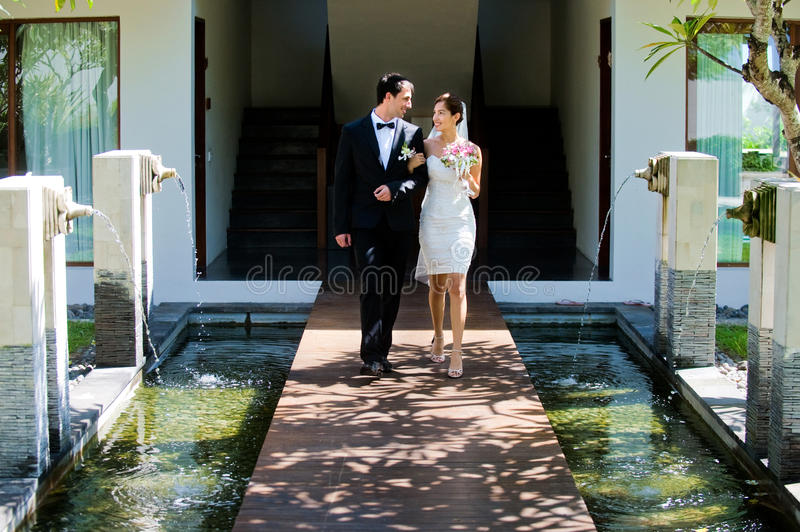 Download Couple Getting Married stock photo. Image of tropical - 13386130