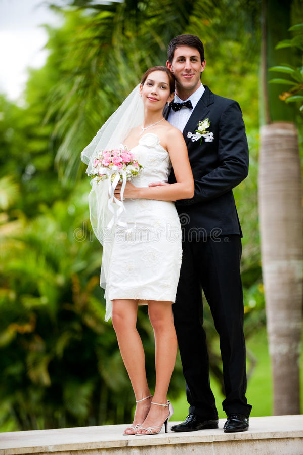 Download Couple Getting Married stock image. Image of female, slim - 13447339
