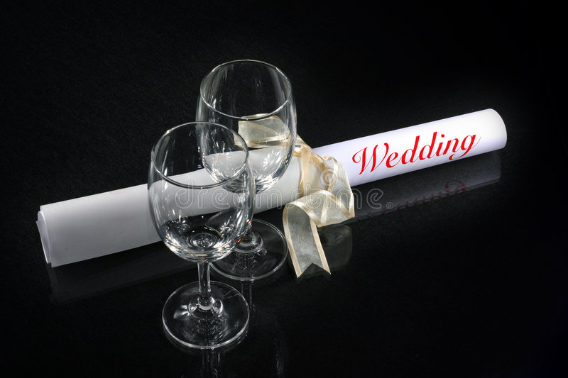 Download Couple glass with wedding stock image. Image of couple - 2315335