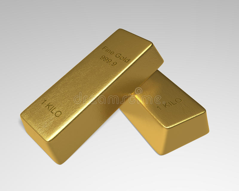 Download Couple of Gold Bars stock illustration. Image of mine - 35298351