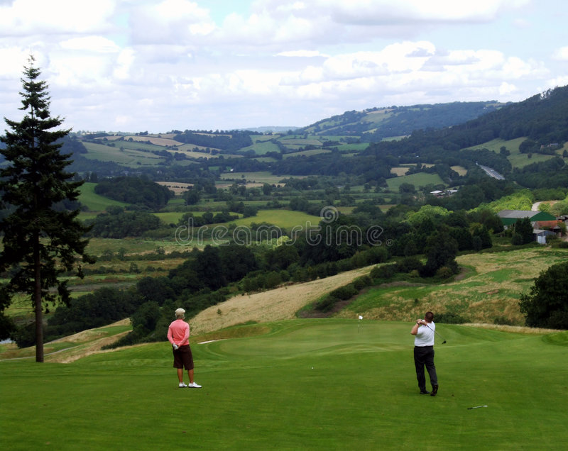 Download Couple golfing stock photo. Image of green, couple, marriage - 3180636