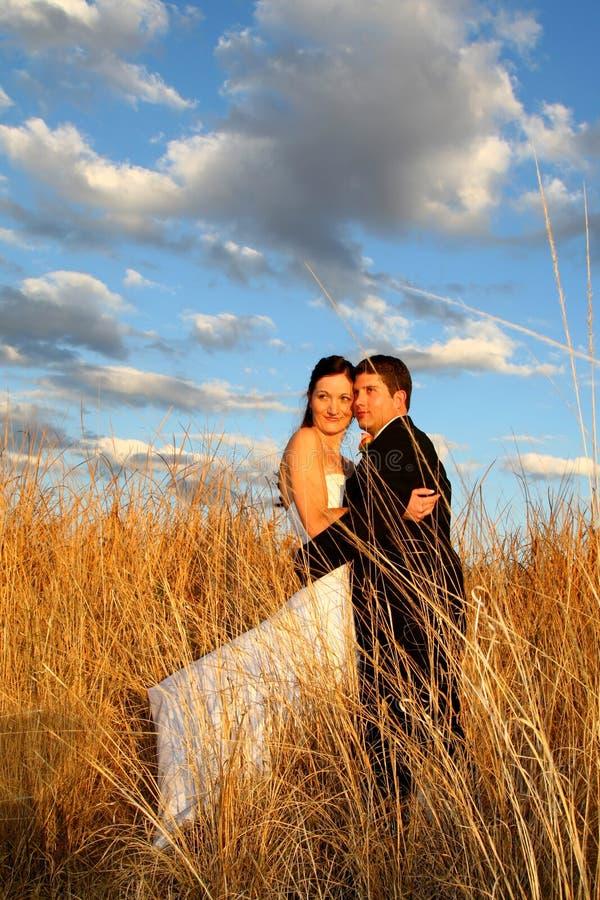 Couple Grass stock photo