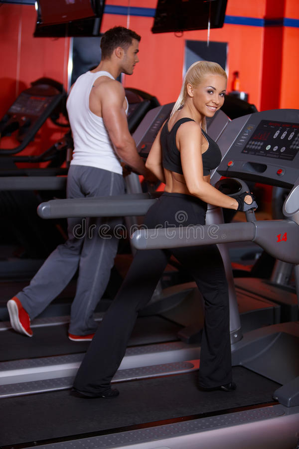 Download Couple at the gym stock image. Image of handsome, diet - 14855343