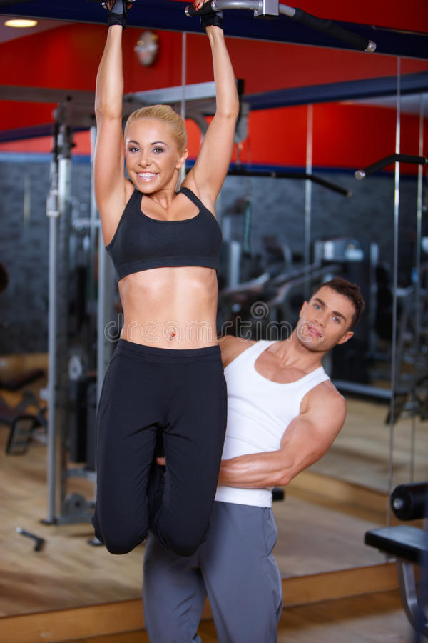 Download Couple at the gym stock image. Image of people, sport - 14855417