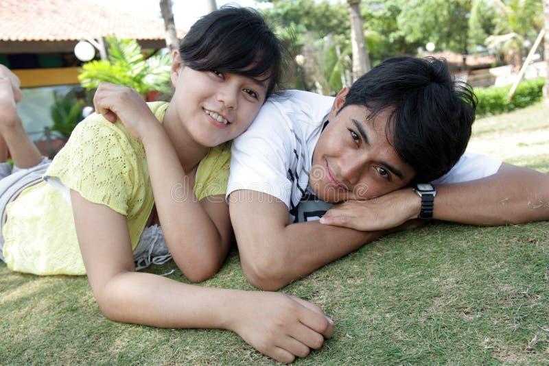couple happy στοκ φωτογραφία