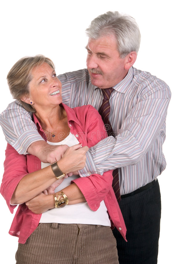 couple happy middleaged στοκ φωτογραφίες με δικαίωμα ελεύθερης χρήσης