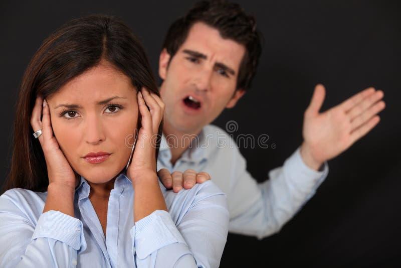 Download Couple having argument stock photo. Image of depressed - 28642132