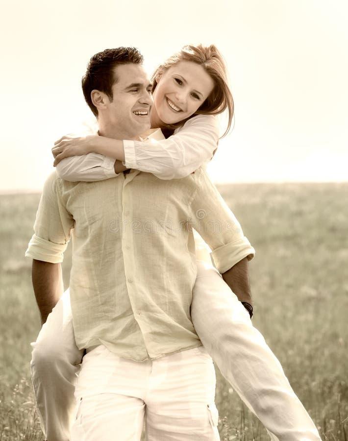 Download Couple having fun stock image. Image of relationship - 28932417