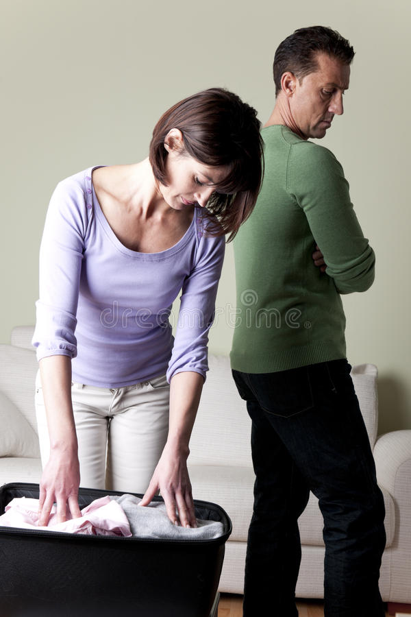 Couple Having Problems, Stock Image