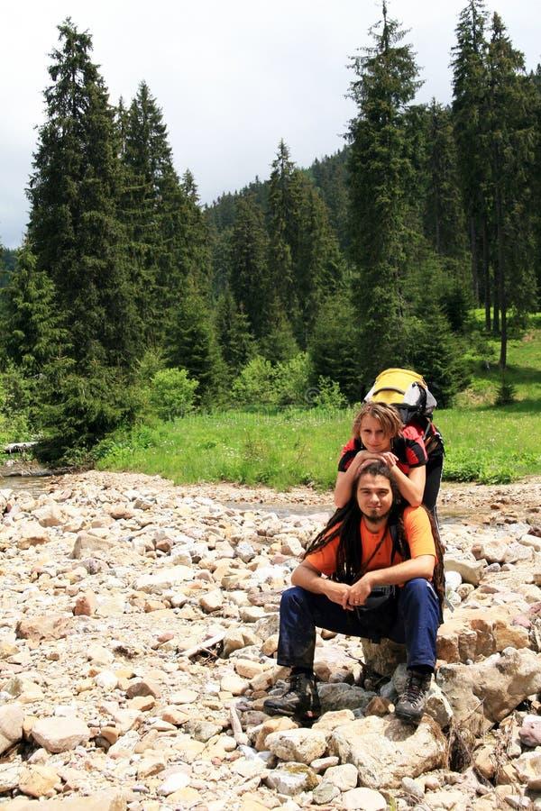 Download Couple Hiking Stock Image - Image: 14261351