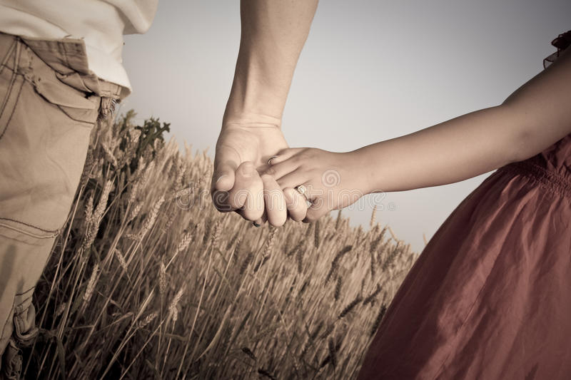 Download Couple Holding Hands stock photo. Image of hold, sunny - 14722684