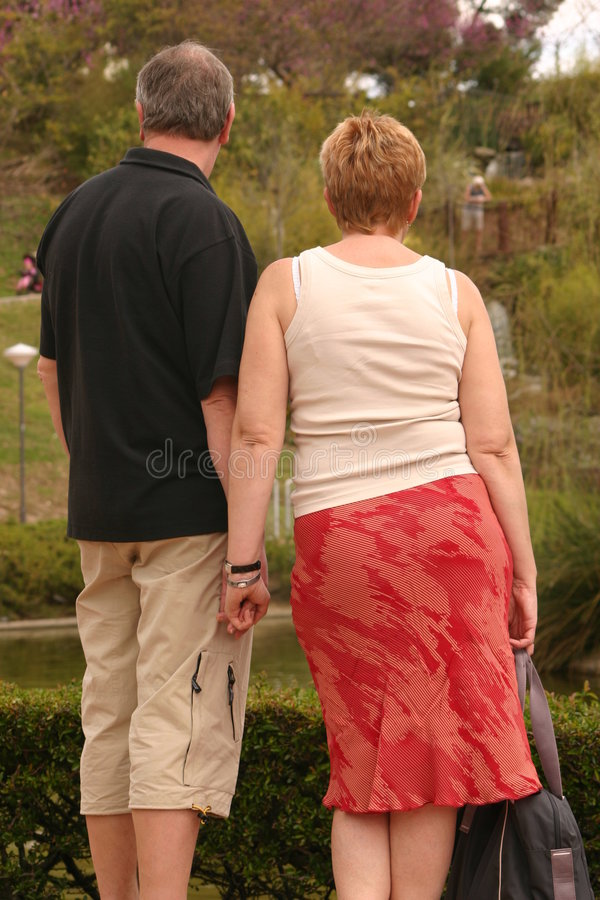 Download Couple holding hands stock photo. Image of relaxing, female - 715036