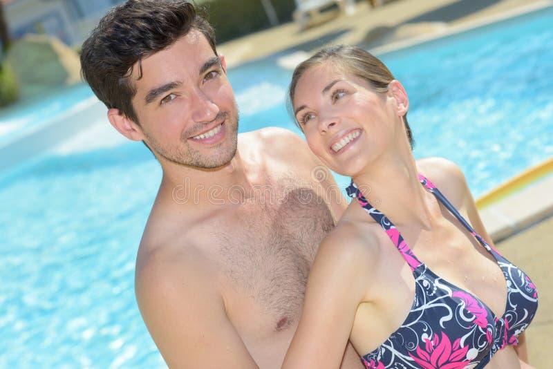 Couple on holiday royalty free stock image