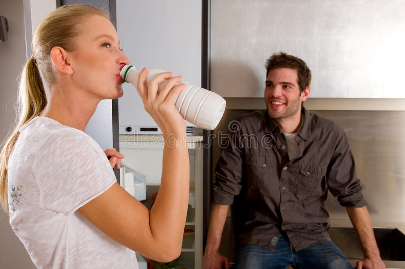 Download Couple at home stock photo. Image of caucasian, adults - 25545584