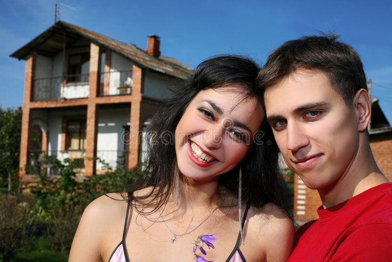 couple house στοκ εικόνες