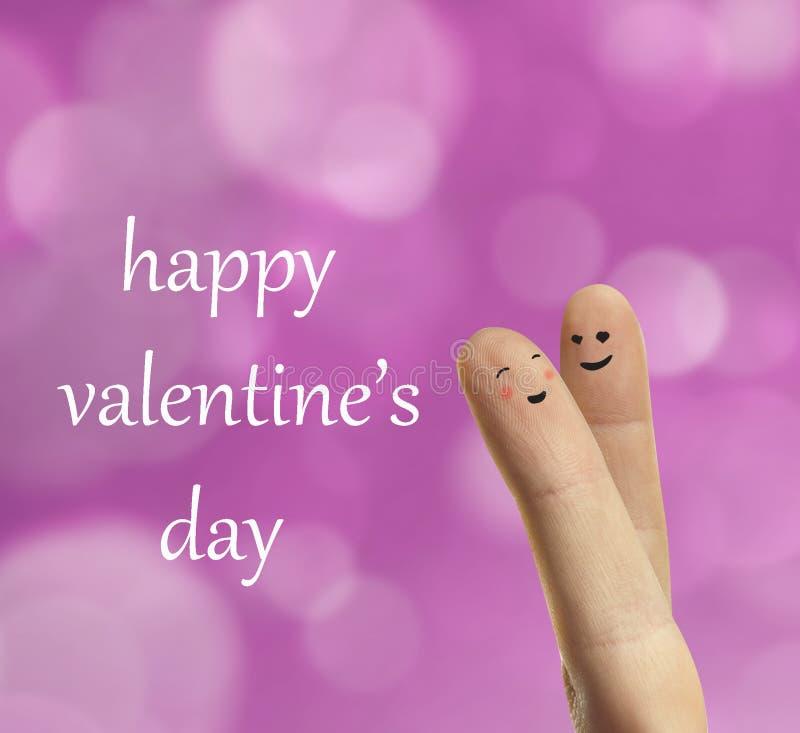 Couple Hug Of Happy Fingers Smileys With Love Stock Photos