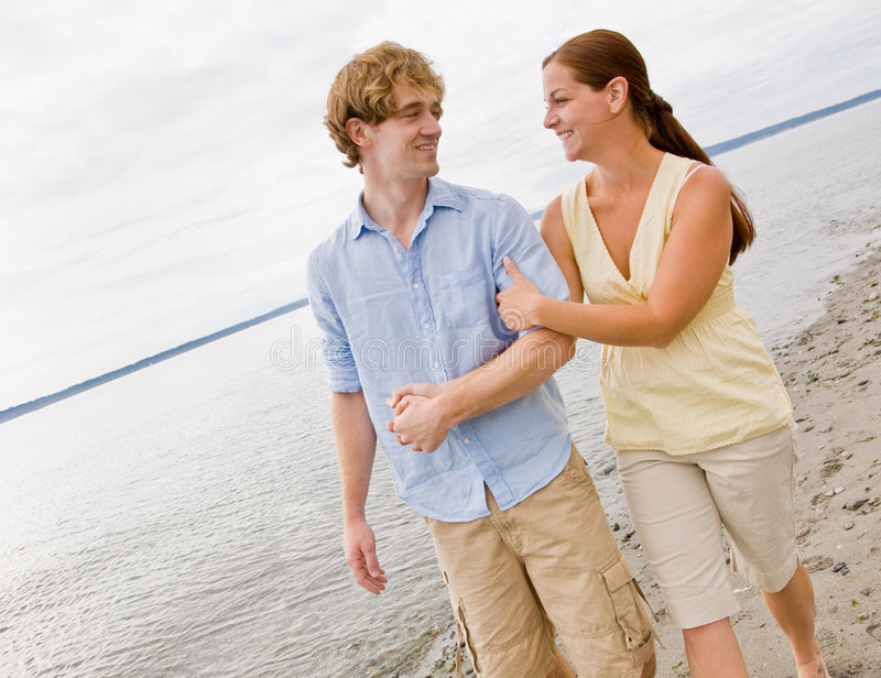 Download Couple hugging at beach stock photo. Image of boyfriend - 7430382