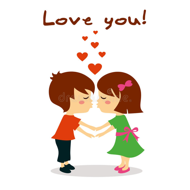 Free Couple In Love Kissing, Love You Royalty Free Stock Photography - 63891237
