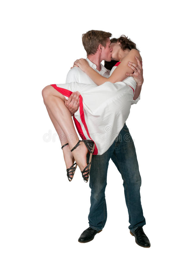 Couple Kissing stock images