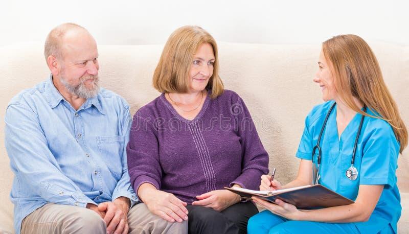 Couple la thérapie photos stock