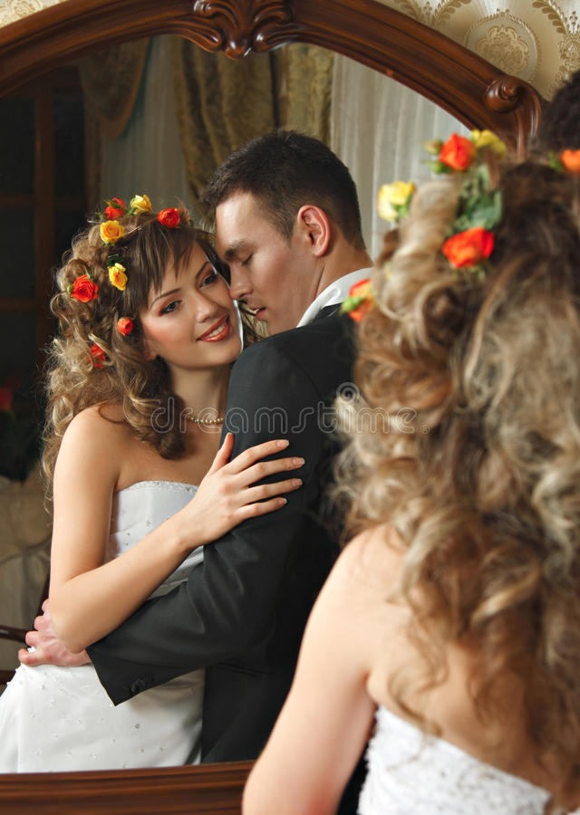 Download Couple in love stock image. Image of just, intended, bride - 13735805