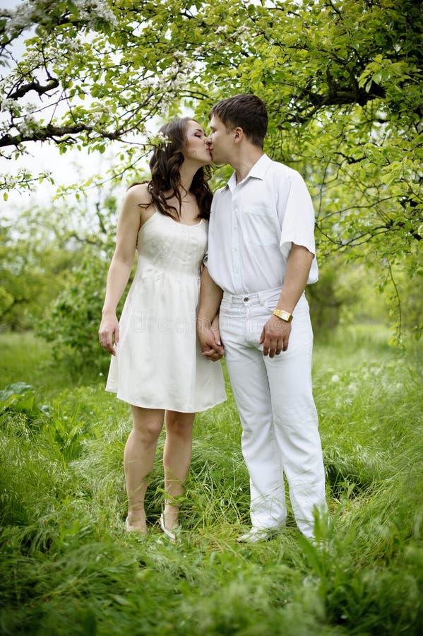 Download Couple in love stock image. Image of honeymoon, green - 19544787