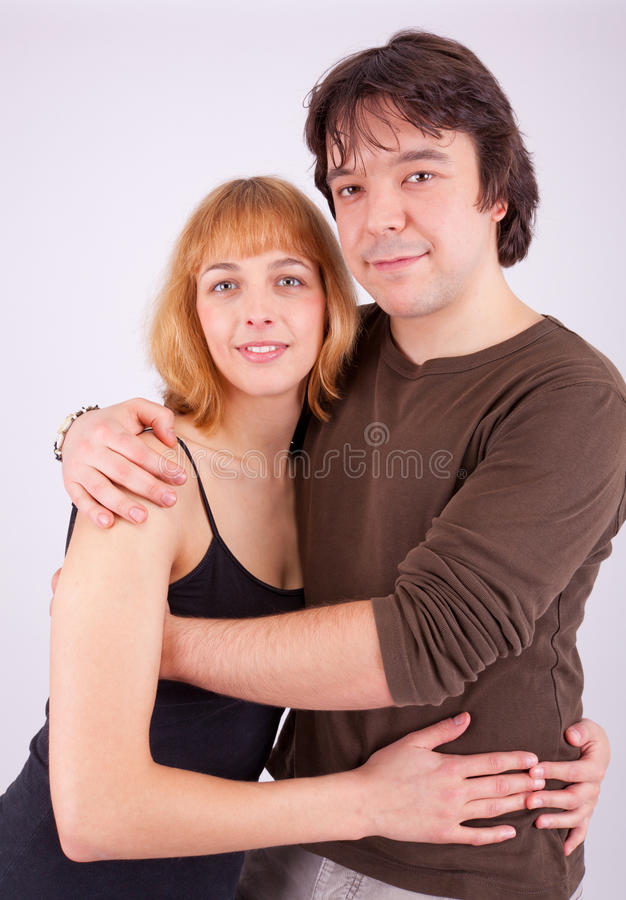 A Couple In Love Royalty Free Stock Photo