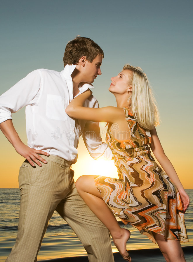 Couple In Love Royalty Free Stock Image