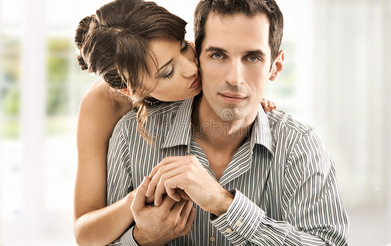 Download Couple in love stock photo. Image of grasp, attractive - 9076740